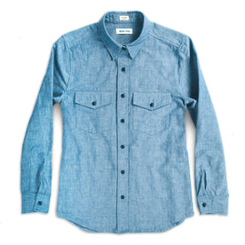 The Studio Shirt in Blue Everyday Chambray: Featured Image