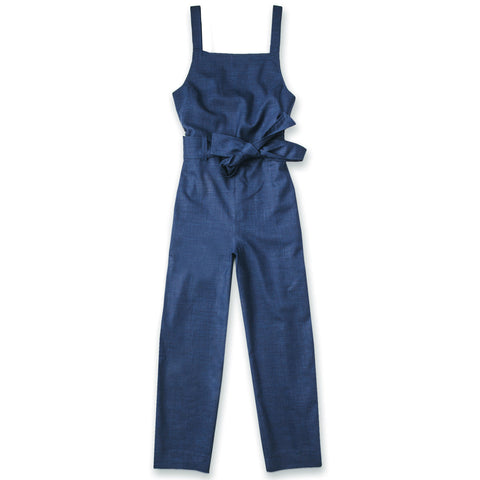 The Frankie Jumpsuit in Cobalt - featured image