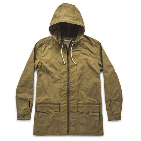 The Lighthouse Jacket in Olive - featured image