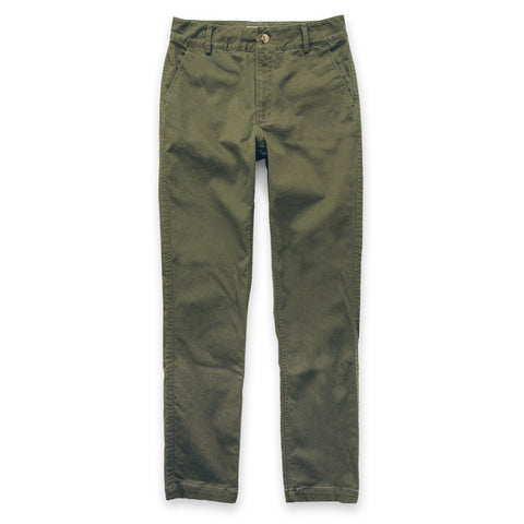 The Abel Pant in Army Green - featured image