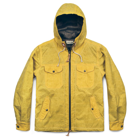 The Winslow Parka in Mustard - featured image