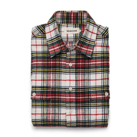 The Yosemite Shirt in White Tartan: Featured Image