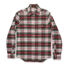The Yosemite Shirt in White Tartan: Alternate Image 7