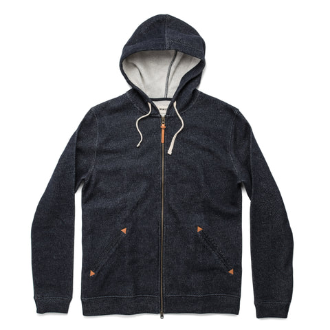 The Après Hoodie in Navy - featured image