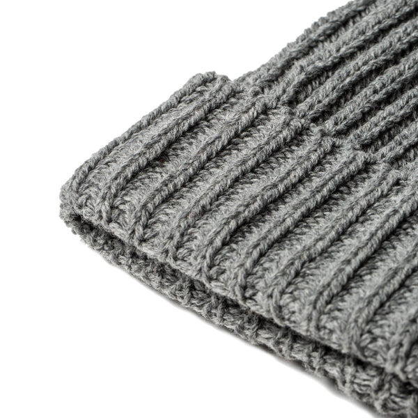 86a831b8bcb The Beanie in Grey Melange Merino - Classic Men s Clothing