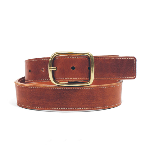 The Double Belt in Whiskey Steerhide - featured image
