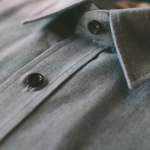 The California in Light Blue Everyday Chambray - alternate view