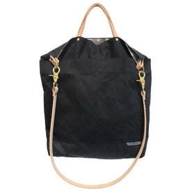 Ali Golden Reversible Tote - Black/Grey Dot: Featured Image