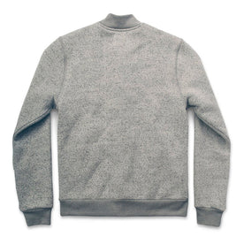 The Bomber in White Fleck Fleece: Alternate Image 4