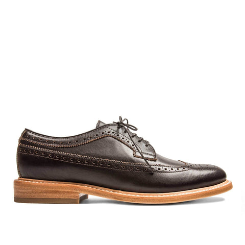 The Brogue in Espresso Leather - featured image
