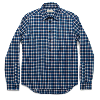 The California in Brushed Navy Plaid: Alternate Image 9