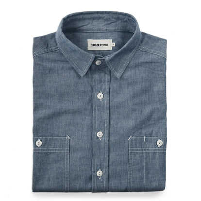 The California in Blue Everyday Chambray: Featured Image