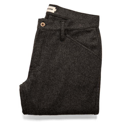 The Camp Pant in Charcoal Wool - featured image