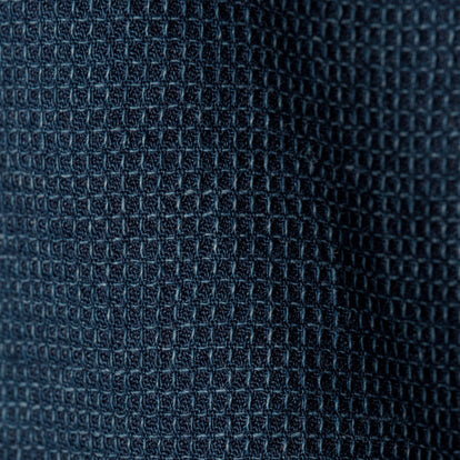 The Short Sleeve Jack in Mini Indigo Waffle: Alternate Image 7