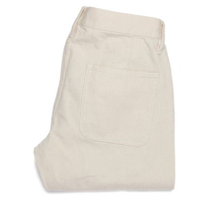 The Camp Pant in Organic Natural Selvage: Alternate Image 8