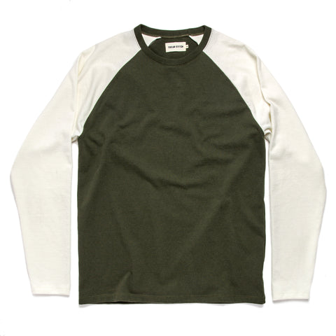 The Heavy Bag Baseball Tee in Cypress - featured image