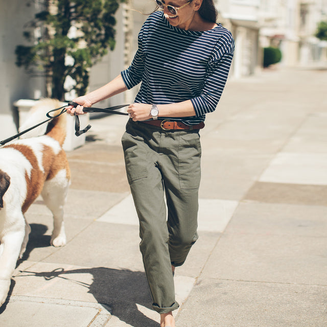 The Cavallo Pant in Olive