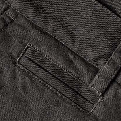 The Slim Chino in Organic Charcoal: Alternate Image 7