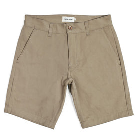 Traveler Shorts in Khaki Twill: Featured Image