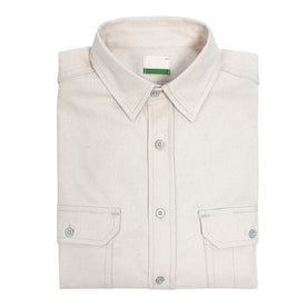 The Chore Shirt in Natural: Featured Image