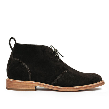 The Chukka in Weatherproof Chocolate Suede: Featured Image