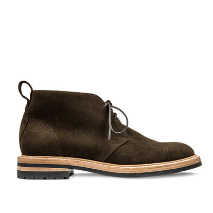 The Chukka in Weatherproof Loden Suede: Featured Image
