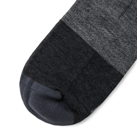 The Merino Sock in Dipped Navy - alternate view