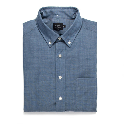 The Merino Jack in Sky Blue Chambray - featured image