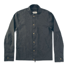 The Bomber Jacket in Charcoal: Featured Image