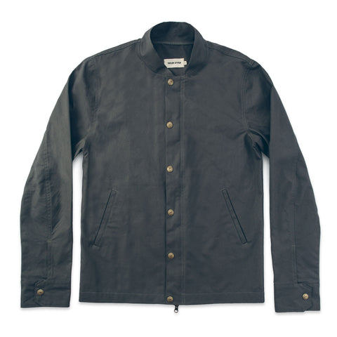 The Bomber Jacket in Charcoal - featured image
