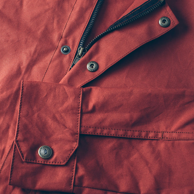 The Bomber Jacket in Rust