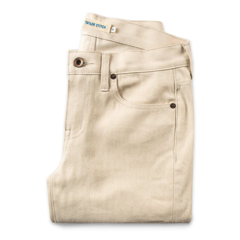 The Adler Jean in Cone Mills Natural - featured image