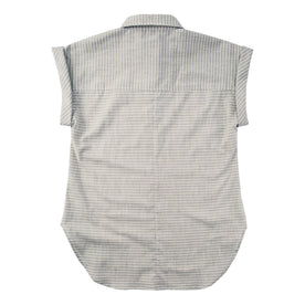The Reese Popover in Grey Striped Chambray: Alternate Image 6