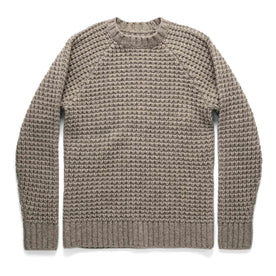 The Fisherman Sweater in Natural Waffle: Featured Image
