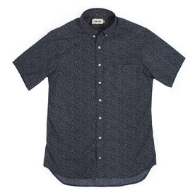 The Short Sleeve Jack in Navy Mini Floral: Alternate Image 2