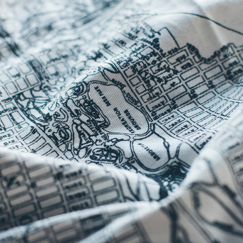 Map Handkerchief - alternate view