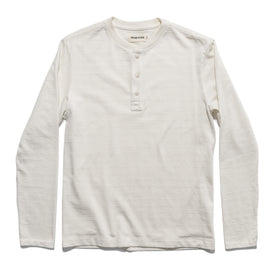 The Heavy Bag Henley in Natural - featured image
