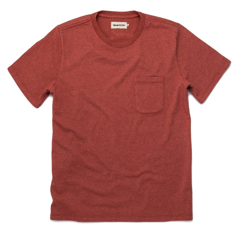 The Heavy Bag Tee in Washed Rust - featured image