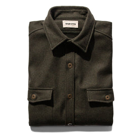 The Explorer Shirt in Olive: Featured Image