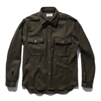 The Explorer Shirt in Olive