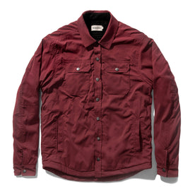 The Albion Jacket in Burgundy: Featured Image