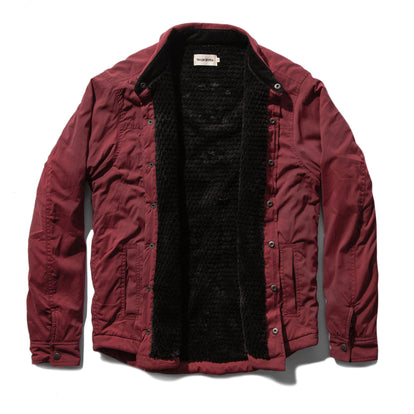 The Albion Jacket in Burgundy