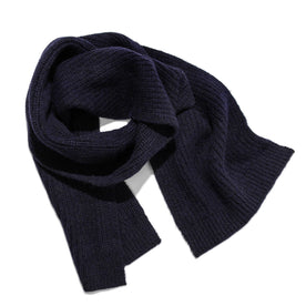 The Scarf in Navy Alpaca: Featured Image