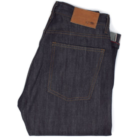 The Slim Jean in Shuttle Loomed Italian Selvage Denim: Featured Image