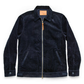 The Piston Jacket in Indigo Corduroy - featured image