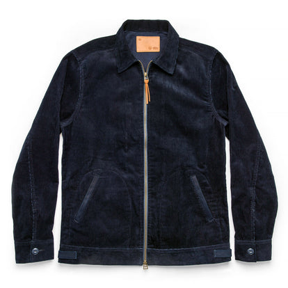 The Piston Jacket in Indigo Corduroy: Featured Image