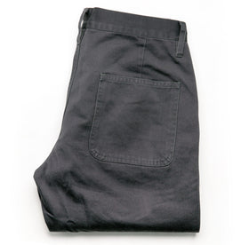 The Camp Pant in Charcoal Reverse Sateen: Alternate Image 9