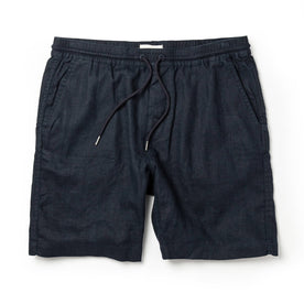 The Apres Short in Navy Hemp - featured image