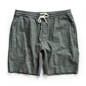 The Apres Short in Olive Pin Dot - featured image