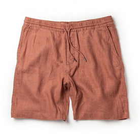 The Apres Short in Rust Hemp - featured image